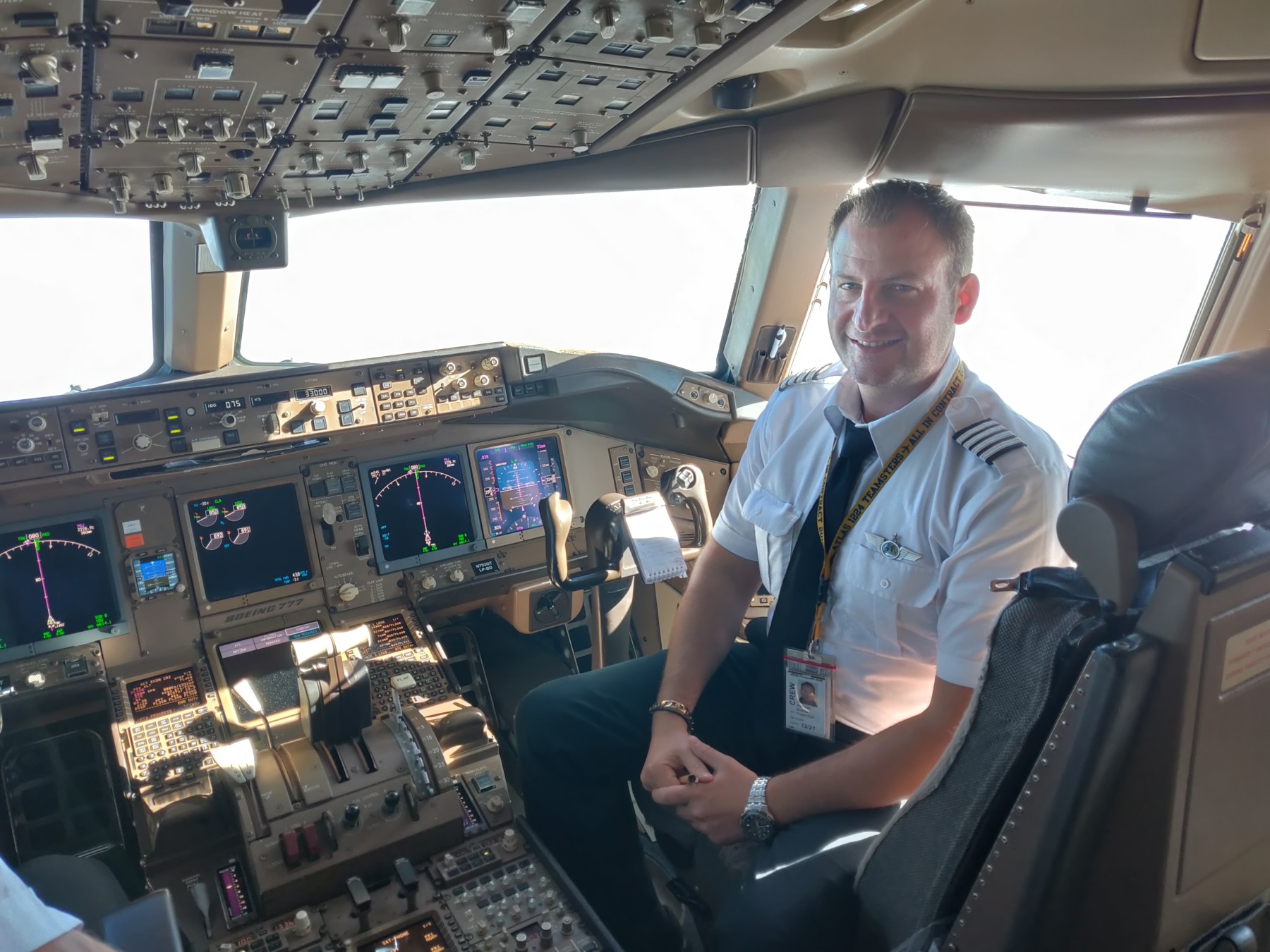 Aνδρέας Κούστας, Κυβερνήτης Boeing (B-777)