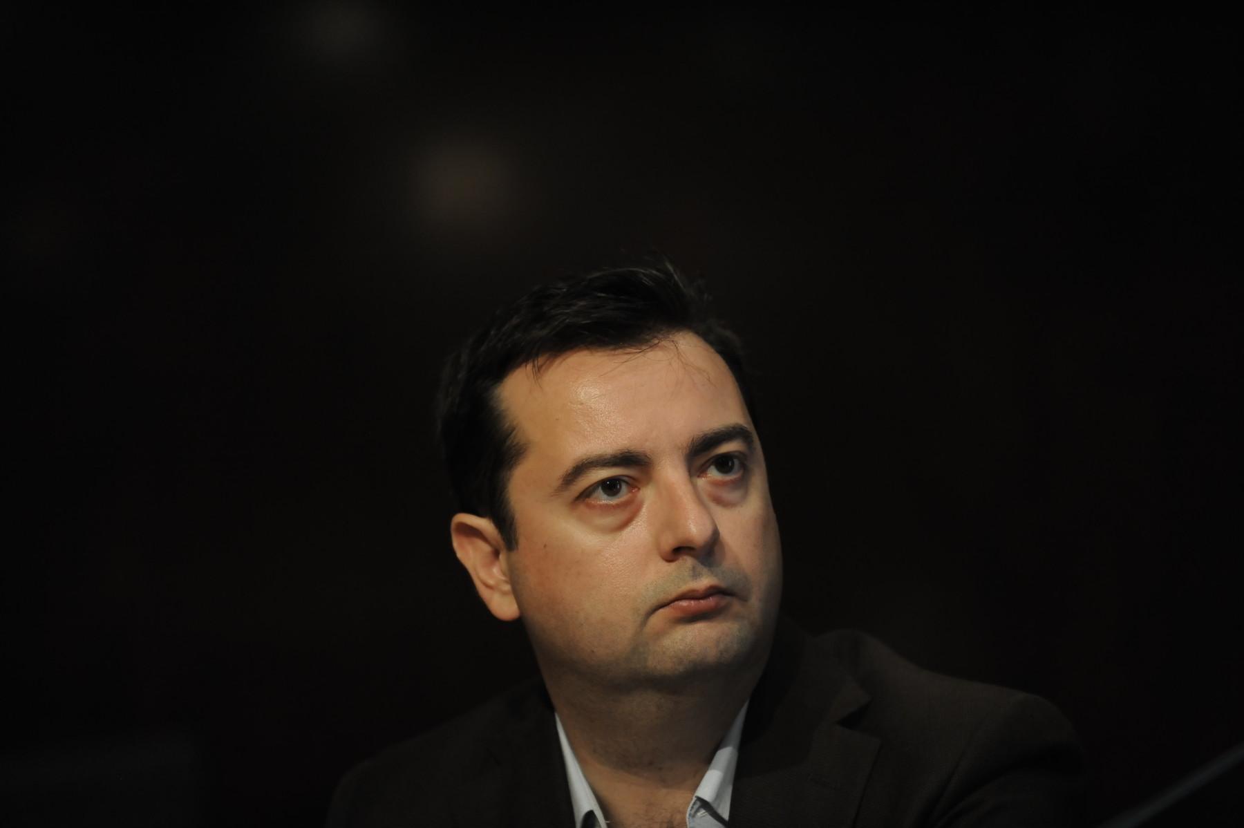 Γιάννης Παπαδογιάννης, Δημοσιογράφος, δημιουργός του BusinessDaily.gr. Φωτ. Εurokinissi/Τατιάνα Μπόλαρη