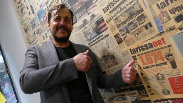 Αλέξανδρος Σακελάρης, Επιχειρηματίας, πρόεδρος του Συνδέσμου Ιδιοκτητών Κέντρων Αναψυχής και Εστίασης ν. Λάρισας (ΣΙΚΑΕΛ)