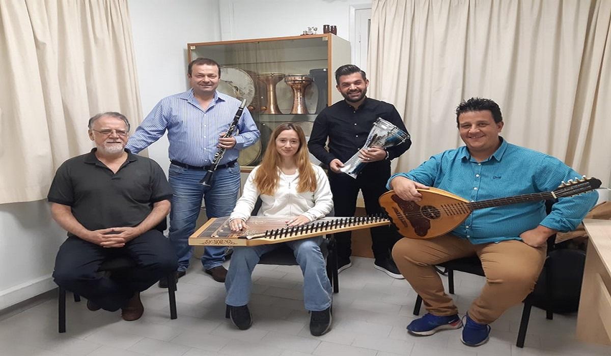 Σχολή Παραδοσιακής Μουσικής του Δημοτικού Ωδείου Λάρισας. Φωτ. larissanet