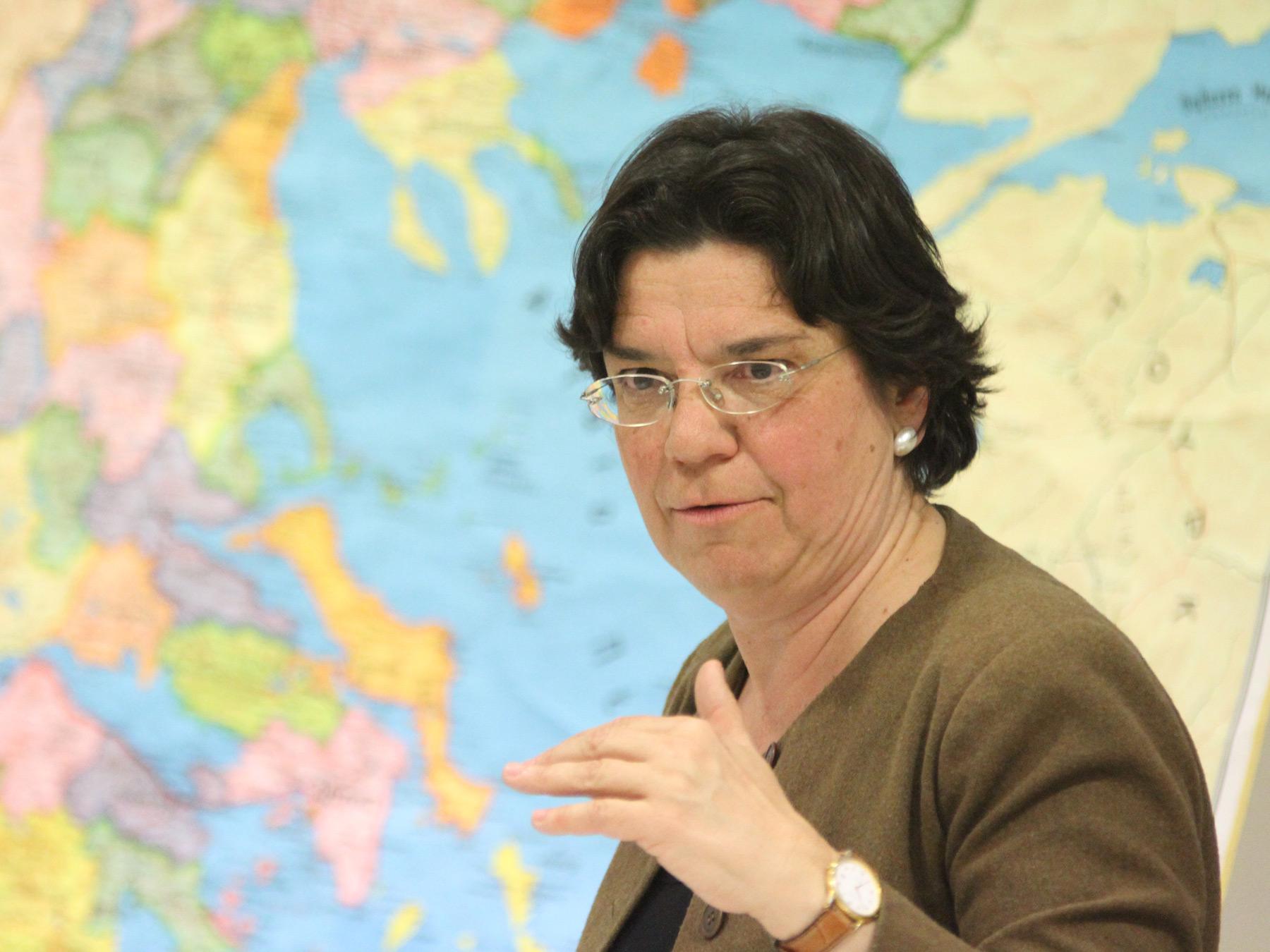 Μαρία Ευθυμία, Καθηγήτρια Ιστορίας ΕΚΠΑ. Φωτ. Φώτης Νατσιούλης