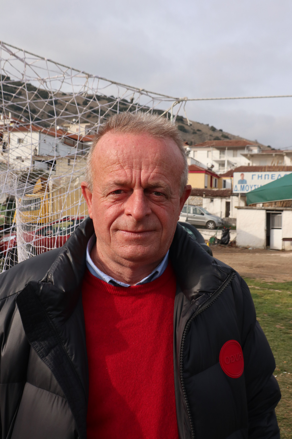 Ο δάσκαλος Γρηγόρης Λέτσιος. Φωτ. larissanet.gr/Λεωνίδας Τζέκας